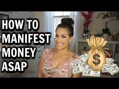 manifested  law  attraction success story   manifest money youtube