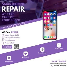customize  computer repair flyer templates postermywall
