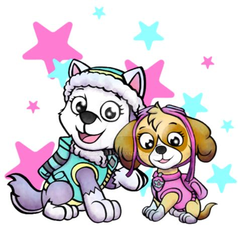 everest jumping paw patrol clipart png paw patrol by katastra on deviantart Unique