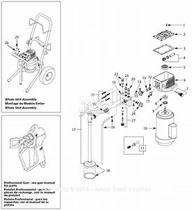 Campbell Hausfeld Al2550 Parts Diagram For Paint