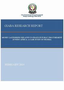 GIABA - TYPOLOGIE-and other Research Reports