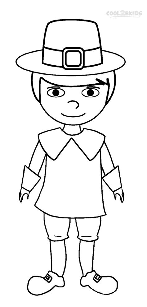 printable pilgrims coloring pages  kids coolbkids