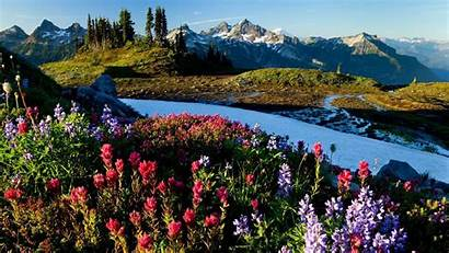 Spring Desktop Backgrounds Wallpapers Mountains Wiki