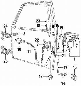 Ford F150 F250 F350 Bronco Front Left Driver Door Latch