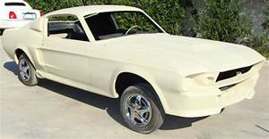 1967 Ford mustang fastback rolling shell