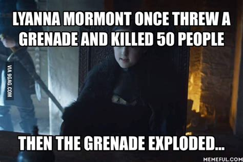 Lyanna Mormont Memes - lyanna mormont is the chuck norris of game of thrones 9gag