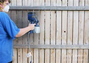 Stain A Fence Like A Boss - Stacy Risenmay
