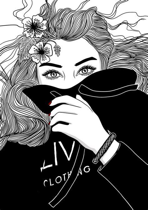 43 Tumblr Mädchen Schwarz Weiß Dekoration Bilder Ideen