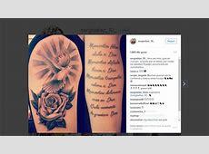 Sergio Díaz corrige su tatuaje AScom