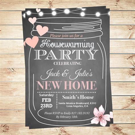 housewarming party invitations template  diypartyinvitation