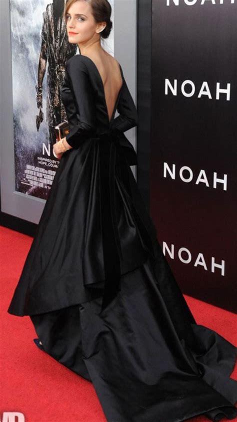 Emma Watson Oscar Renta Tres Chic Long