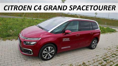 Citroen Pl by Citroen C4 Grand Spacetourer 2 0 Hdi Test Pl