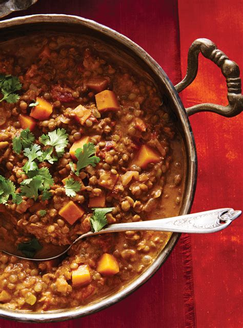squash and lentil curry ricardo