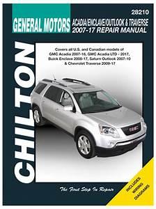 Gmc Acadia  Buick Enclave  Saturn Outlook  U0026 Chevy Traverse