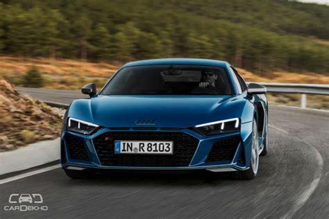 2019 Audi R8 Facelift Unveiled Cardekhocom