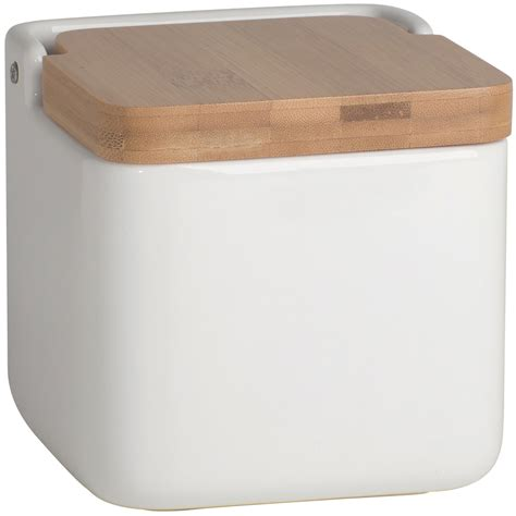 ceramic kitchen storage bamboo and ceramic food storage container in kitchen canisters 2064