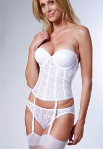 silicon wedding ring dominique low back push up basque totally curvy