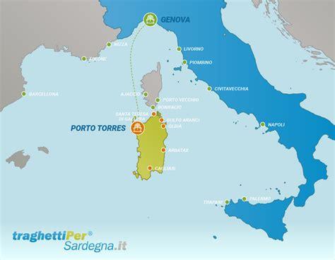 Biglietti Porto Torres Genova tratta traghetti da genova a porto torres traghettiper