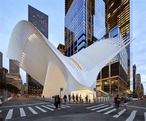 gallery  world trade center transportation hub santiago calatrava