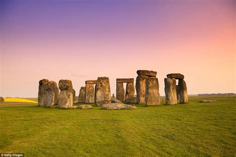 'new Stonehenge' Was Made Of Wood  Daily Mail Online