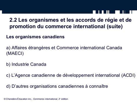 bureau du commerce international l environnement du commerce international