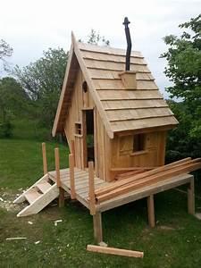 Cabane En Bois Pour Enfant : construction d 39 une cabane en bois pour mes enfants 54 ~ Dailycaller-alerts.com Idées de Décoration