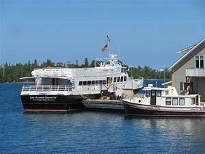 Isle Royale National Park: Arriving in Rock Harbor - Road ...