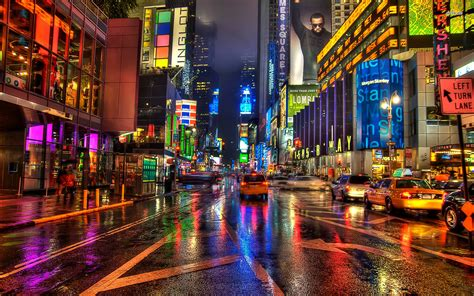 Nyc-the City That Never Sleeps (through