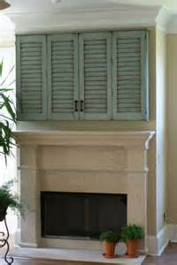 TV Wall Cabinets with Shutter Doors