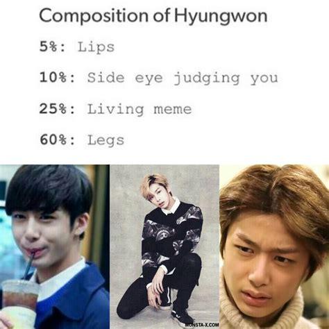 Hyungwon Memes - 418 best monsta x images on pinterest