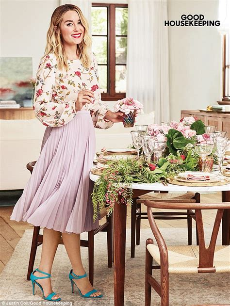 lauren conrad poses for a holiday themed shoot in good