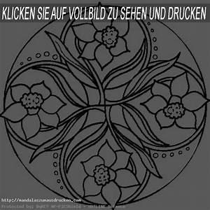 Blumen 1Mandalas Zum Ausdrucken