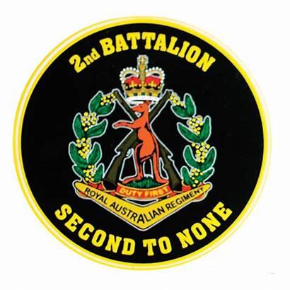 2rar Sticker Australian 2nd Battalion Rar Royal