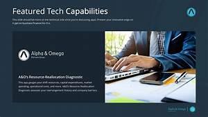 Modern Financial Premium PowerPoint Template - SlideStore