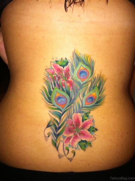 attractive lily tattoos