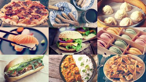 cuisine instagram the most popular foods around the according to