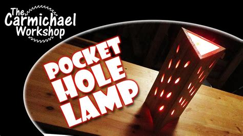 pocket hole lamp fun kreg jig woodworking
