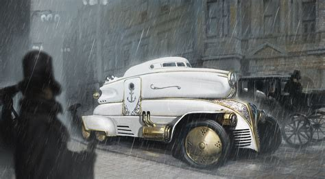 Steampunk Scifi, Hd Cars, 4k Wallpapers, Images