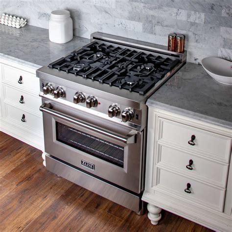 zline rg   gas range   italian burners porcelain cooktop cast iron grill  cu