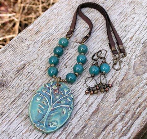 stunning examples  handmade ceramic jewelry multy
