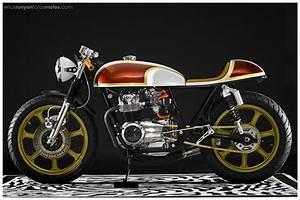 1974 Honda Cb550k  U0026 39 Lucy U0026 39  By Hot Sake Cycles