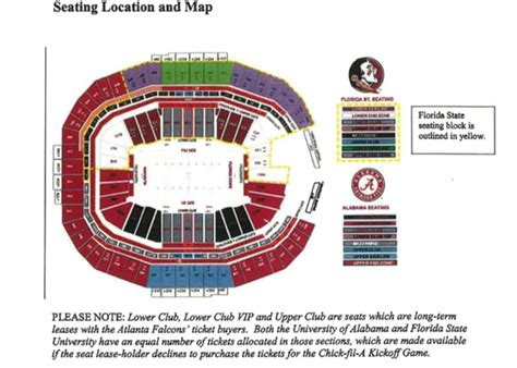 details ticket prices  seating chart   alabama florida state game revealed alcom