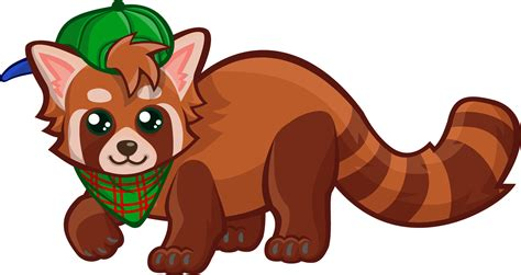 red panda clipart clipground