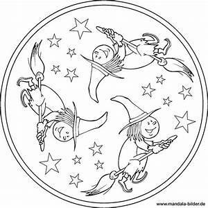 Be Be S Collection Kleine Prinzessin : mandala hexe als kostenlose malvorlage f r kinder ~ Frokenaadalensverden.com Haus und Dekorationen