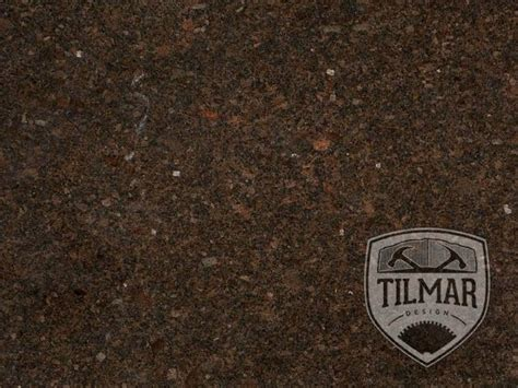 It is available in both tiles and slabs and recommended for all commercial and residential projects including flooring, walls. Coffee Brown Granite - Til Mar Design