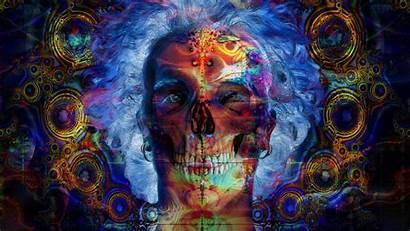 Trippy Cool Backgrounds Desktop Psychedelic Wallpapers Skull