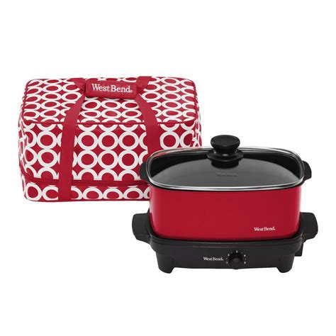 West Bend 5 Qt Slow Cooker84915r  The Home Depot