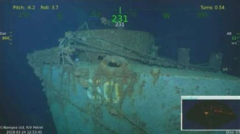 discovery   long lost wwii cruiser  uss