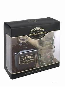Coffret Whisky Avec Verre : whisky jack daniel 39 s single barrel coffret 2 verres maison du whisky ~ Teatrodelosmanantiales.com Idées de Décoration