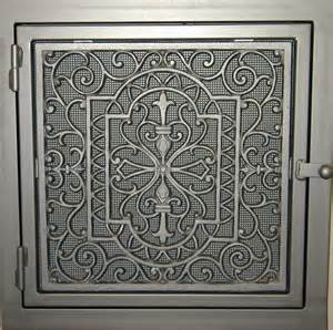 donici design cold air return vent cover old antique